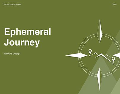 UX Design - Ephemeral Journey