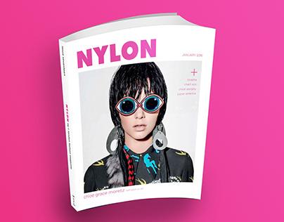 NYLON Magazine Redesign