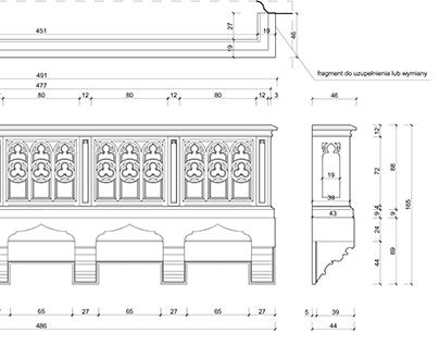 Empory drewniane i kaplica lotników w Kościele Garnizon