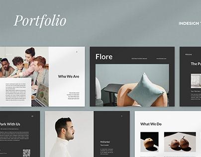 Flore Portfolio Template