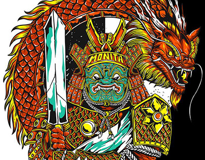 2019 - MONITA : DRAGON SAMURAI