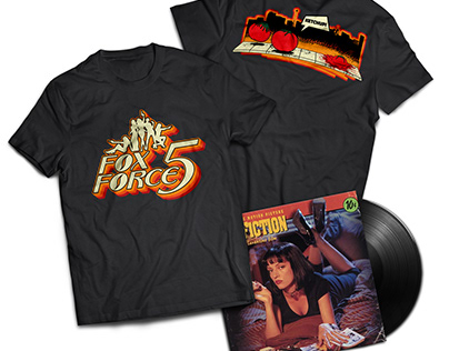 Fox Force 5 T-shirt Design