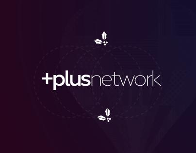 PlusNetwork UI / UX Design - Concept