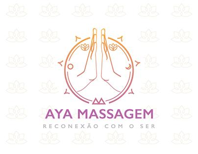 Brand Aya Massagem