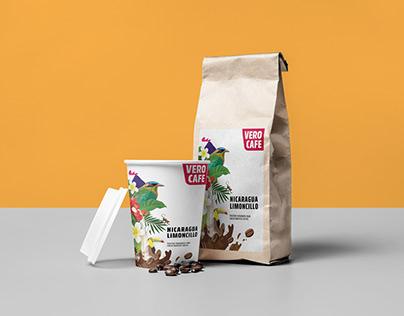 Vero Cafe label design