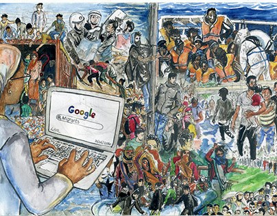 #TagItRight: Migrants according to Google Images