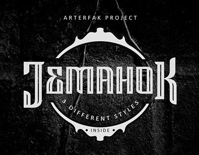 Jemahok Font Family