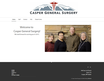 Casper Surgical Center | Branding & Website