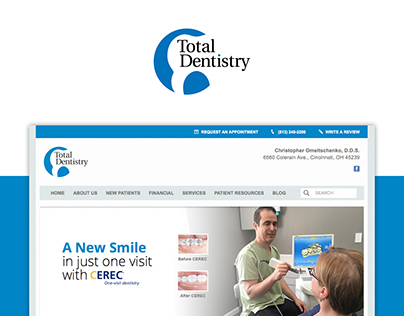 Dental Website Templates Concepts On Behance
