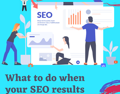 What to do when SEO results failing