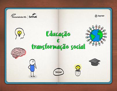 Ilustrações e identidade visual - Curso Educação
