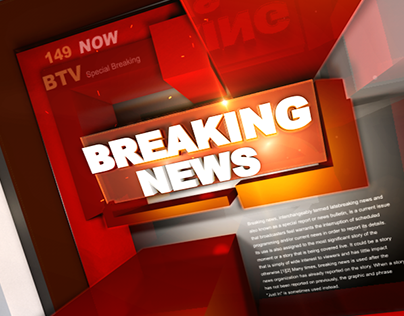 Breaking news Title Ident