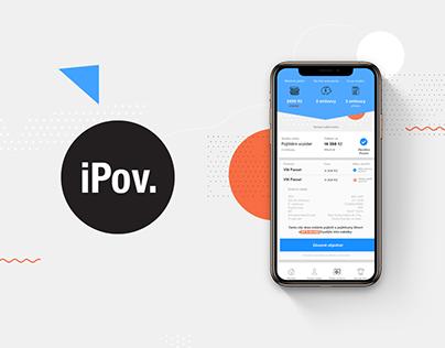 iPov Insurance App & Landing Page