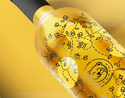 miskiewicz - branding for honey product