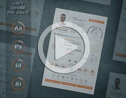 Curriculum Vitae -Max Zoccarato -Art/ Graphic Designer