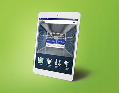 KEEP Rentals Website Design