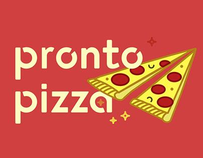 Pronto Pizza Logo Design