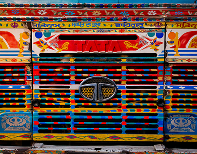 India | Truck Art