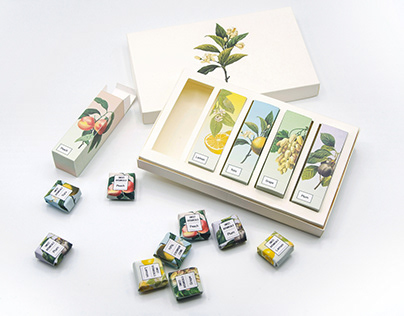 Sweet Botanicals Candy Packaging