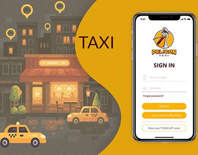 Pelican Taxi App | Mobile Application Design