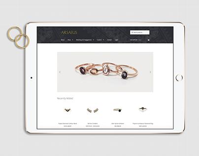 Arsaeus Designs Online Store