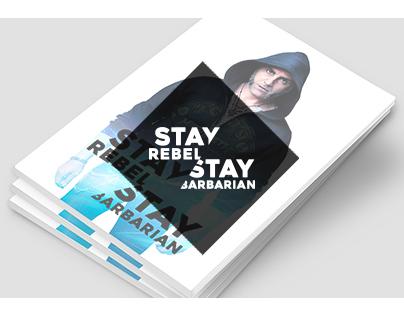Stay Rebel, Stay Barbarian - Brochure