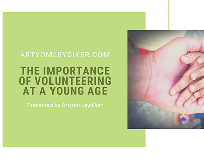 The Importance of Volunteering at a Young Age