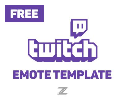 Twitch Emote Template (FREE)