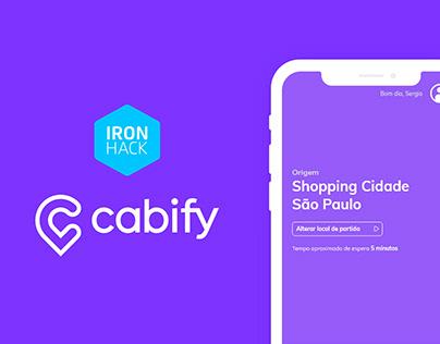 Case Study Cabify - UX/UI