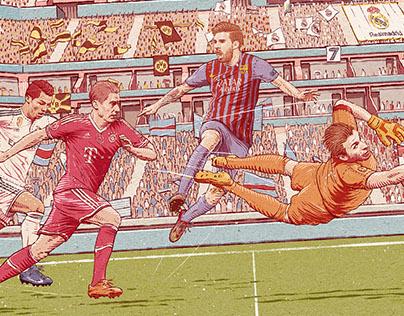 Champions League Key Visual