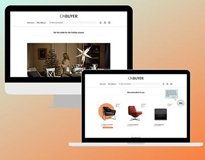 OXbuyers B2B - Website Design
