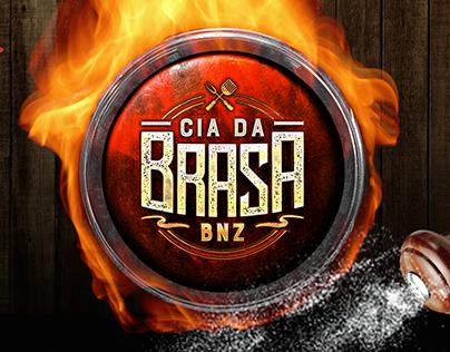 Logotipo - Cia da Brasa