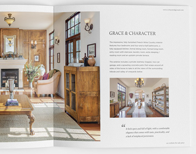 Chateau De Sevres Brochure and marketing