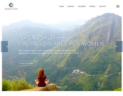 Aspen Care - Web Design Project