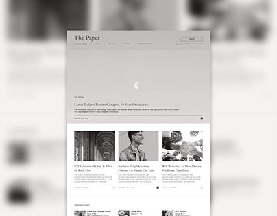 University News Site