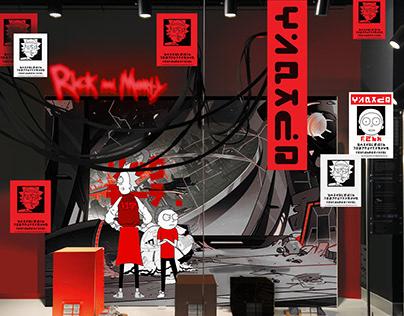 Rick&Morty X Primark - product display visualisation