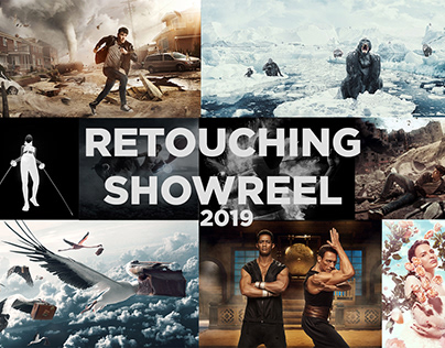 Retouching showreel 2019