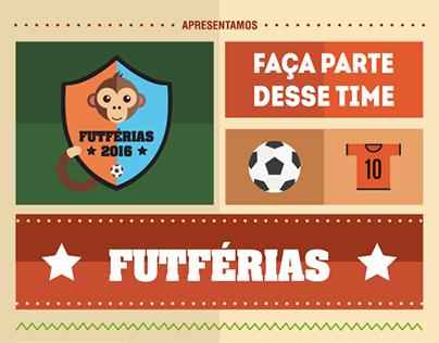 FutFérias - logo + Branding