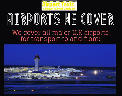 Airports We Cover