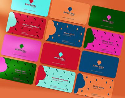 Broccoli studio branding