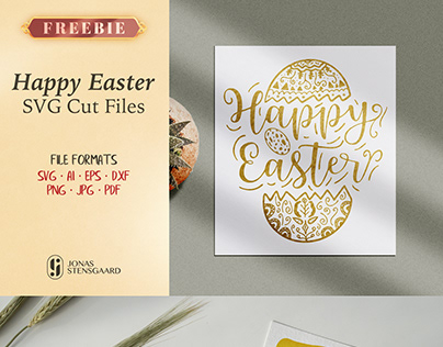 Free Happy Easter SVG Cut Files