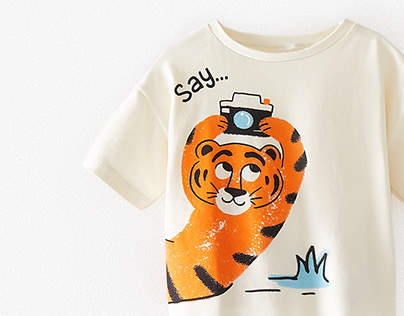 BABY BOY'20 Tiger T-shirt