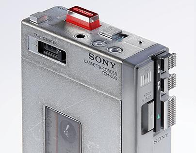 Sony TCM-600 Cassette Walkman
