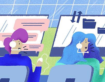 Blog Illustrations