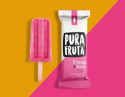 Pura Fruta Natural Popsicles
