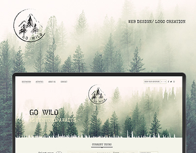 Go Wild / Web Design & Logo Creation