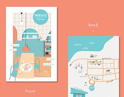 Mereng Patisserie // Flyer I Menu I Poster Designs