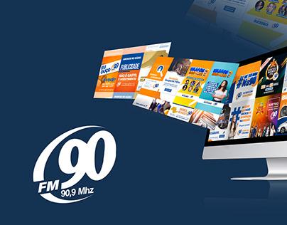 Mídia Social - Rádio FM90