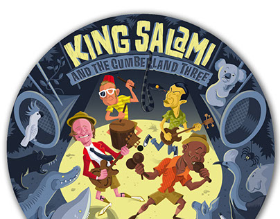 "KING SALAMI 12"" vinyl picture disc"