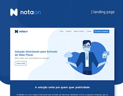 NotaOn | Landing Page